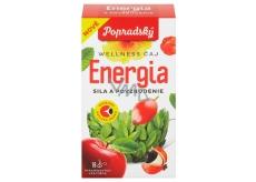 Popradský wellness čaj - Energie a povzbuzení 27 g, 18 pyramidových sáčků