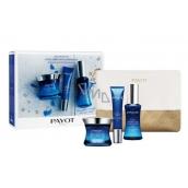 Payot Blue Techni Liss Jour vyhlazující chronoaktivní krém 50 ml + Regard vyhlazující chronoaktivní gel 15 ml + Concentré vyplňující chronoaktivní sérum 30 ml, + toaletní taška, kosmetická sada