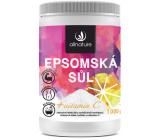 Allnature Epsomská sůl + Vitamín C do koupele k uvolnění a regeneraci Vašeho těla 1000 g