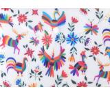 Albi Original Pouzdro na dokumenty Barevné zvířata a květiny A5 - 148 x 210 mm