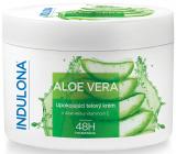 Indulona Aloe Vera zklidňující tělový krém pro normální typ pokožky 250 ml