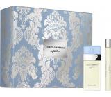 Dolce & Gabbana Light Blue toaletní voda pro ženy 25 ml + toaletní voda 10 ml, dárková sada