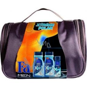 Fa Men Xtreme Polar sprchový gel 2 x 400 ml + deodorant sprej 150 ml, kosmetická sada