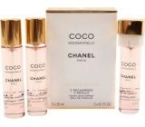 Chanel Coco Mademoiselle parfémovaná voda náplně pro ženy 3 x 20 ml