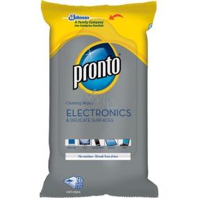 Pronto Electronics ubrousky pro čištění citlivých povrchů a elektroniky 50 kusů