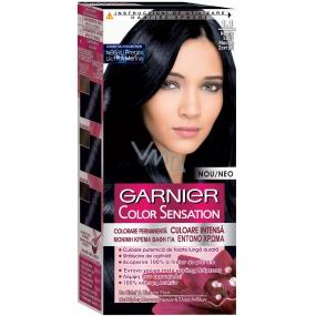 Garnier Color Sensation barva na vlasy 1.1 Midnight Sapphire