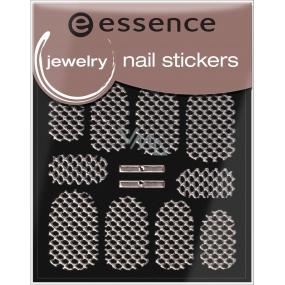 Essence Nail Art nálepky na nehty 16 Jewelry 1 aršík