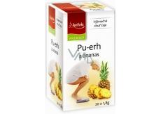 Apotheke Natur Pu-erh a ananas čaj napomáhá v boji s nadváhou 20 x 1,8 g