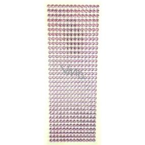 Albi Samolepící kamínky fialové 5 mm 462 kusů