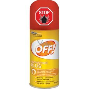 Off! Protection Plus rychleschnoucí repelentní sprej 100 ml