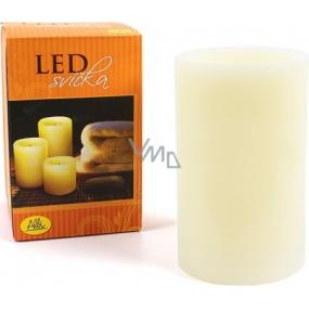 Albi Led svíčka klasik střední žlutá