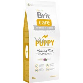 Brit Care Junoir Jehněčí + rýže superprémiové krmivo pro štěňata, malá a střední plemena 12 kg