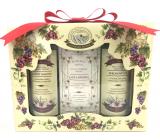 Bohemia Gifts Wine Spa Vinná kosmetika sprchový gel 100 ml + Toaletní mýdlo 100 g + šampon na vlasy 100 ml