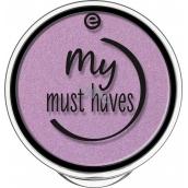Essence My Must Haves Eyeshadow oční stíny 14 Purple Clouds 1,7 g