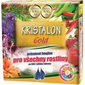 Agro Kristalon Gold prémiové hnojivo pro všechny rostliny 0,5 kg