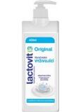 Lactovit Original vyživující tělové mléko s dávkovačem 400 ml