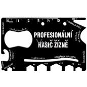Albi Multinářadí do peněženky Profesionální hasič žízně 8,5 cm x 5,3 cm x 0,2 cm