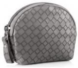 Diva & Nice Kosmetická kabelka šedá 10 x 9 x 3 cm