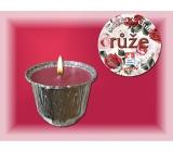 Lima Ozona Růže vonná svíčka 115 g