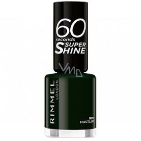 Rimmel London 60 Seconds Super Shine Nail Polish lak na nehty 907 Hustlin 8 ml