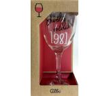 Albi Můj Bar Sklenka na víno 1981 220 ml