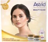 Astrid Beauty Elixir denní krém proti vráskám 50 ml + noční krém proti vráskám 50 ml + dvoufázový odličovač očí a rtů 125 ml, kosmetická sada