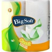 Big Soft Classic papírové kuchyňské utěrky 2 vrstvé 51 útržků 2 kusy