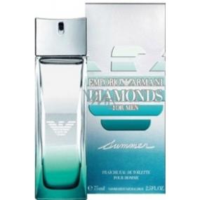 Giorgio Armani Emporio Diamonds Summer for Men toaletní voda 75 ml