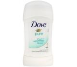 Dove Pure antiperspirant deodorant stick pro ženy 40 ml