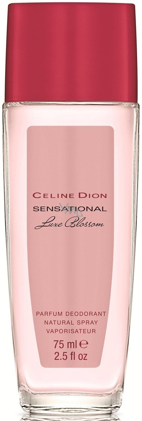 Celine Dion Sensational Luxe Blossom parfémovaný deodorant sklo pro ženy 75 ml