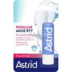 Astrid D-Panthenol extra pečující balzám na rty 4,8 g