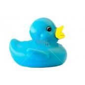 Kačenka modrá plastové se žlutým zobáčkem měnící barvu 1 kus