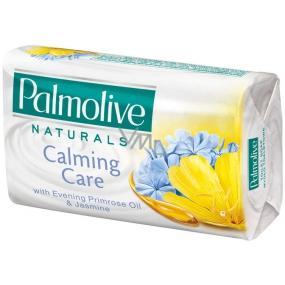 Palmolive Naturals Calming Care Primrose Oil & Jasmine toaletní mýdlo 90 g