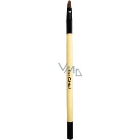 Be Chic! Professional White B 16 kosmetický štětec na rty, syntetický vlas 15,8 cm
