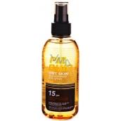 Piz Buin Wet Skin Transparent Sun SPF15 transparentní sluneční sprej na vlhkou pokožku 150 ml