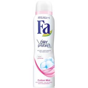Fa Dry Protect Cotton Mist antiperspirant deodorant sprej pro ženy 150 ml