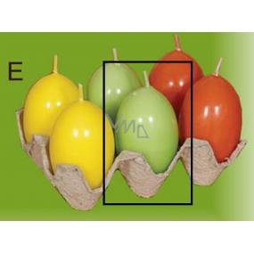 Lima Vajíčko s vůní svíčka světle zelená 40 x 60 mm 1 kus
