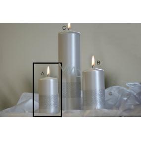 Lima Stuha svíčka perlová válec 50 x 100 mm 1 kus