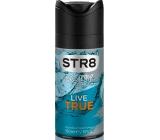Str8 Live True deodorant sprej pro muže 150 ml