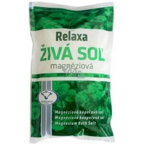 Prešovská Relaxa Živá sůl magnéziová sůl do koupele 500 g
