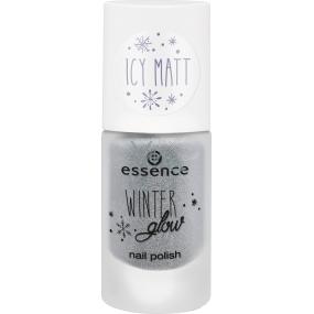 Essence Winter Glow Nail Polish lak na nehty 02 I See Ice 8 ml