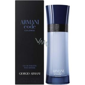 Giorgio Armani Code Colonia toaletní voda pro muže 75 ml