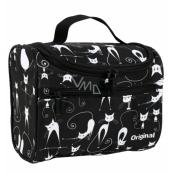 Albi Original Cestovní kosmetický kufřík Kočky 25 x 16 x 13 cm