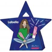 Labello Original balzám na rty 4,8 g + Labello Pearly Shine balzám na rty 4,8 g + Labello Soft Rosé balzám na rty 4,8 g, kosmetická sada