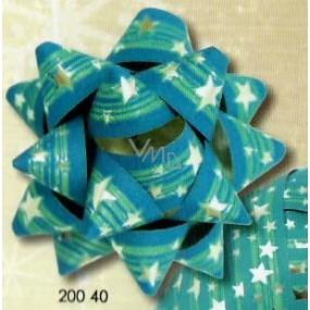 Nekupto Hvězdice střední luxus vánoční modrá 6,5 cm HV 200 40