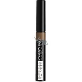 Gabriella Salvete Eyebrow gelová řasenka na obočí 01 Light Brown 6,5 ml