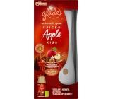 Glade Spiced Apple Kiss s vůní jablka, skořice a muškátového oříšku automatický osvěžovač vzduchu 269 ml