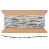 Řetěz stříbrný 10 m