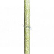 Nekupto Balicí papír zelený, bílé větvičky 150 x 70 cm 997 50