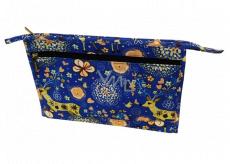 Abella Toaletní kosmetická kabelka 30 x 20,5 x 5,5 cm, vzor modrá NA04